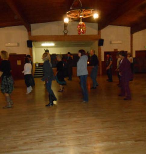 Line Dance Lesson