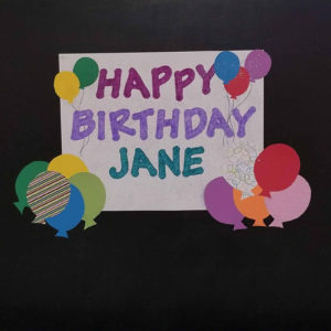 Jane Birthday 2018