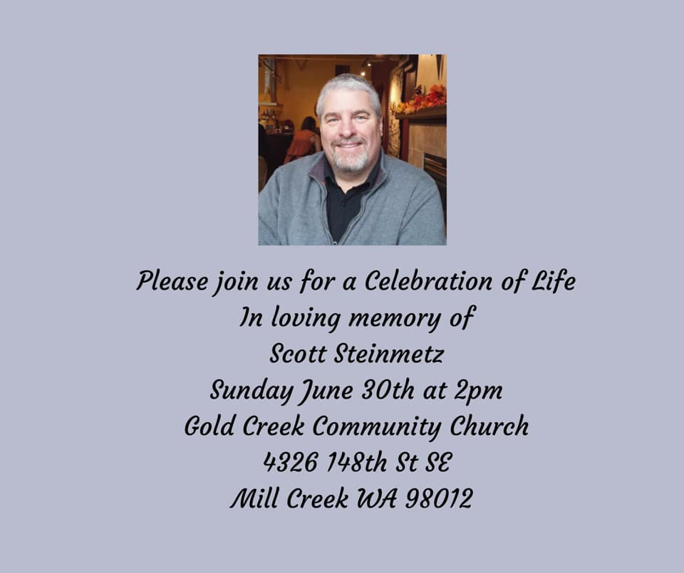 Celebration of Life - Scott Steinmetz